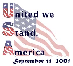 In remembrance of September 11, 2001